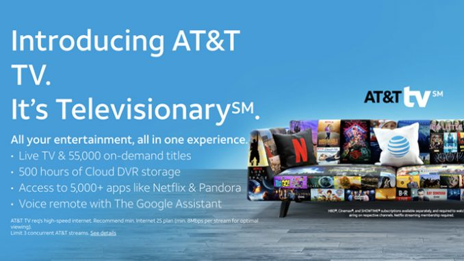 AT&T gives peek at new live streaming TV service and